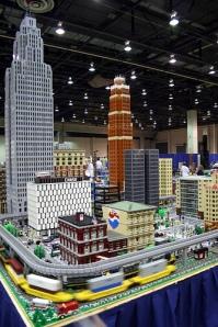 Detroit in Lego
